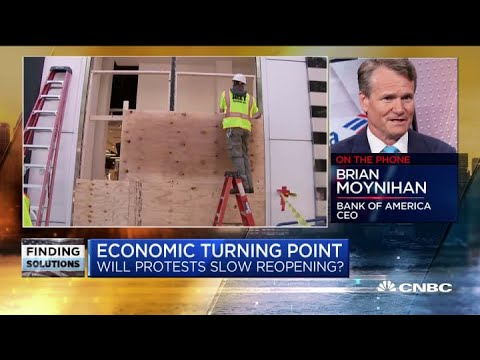 'Things Aren't Going To Quiet Down'—Bank Of America CEO Brian Moynihan On Nationwide Protests