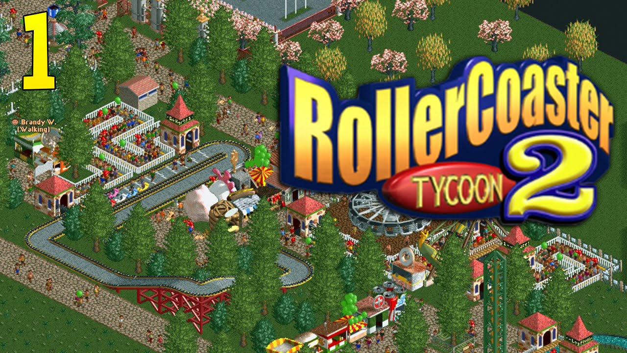 BUILDING THE DREAM! RollerCoaster Tycoon 2 : Episode 1