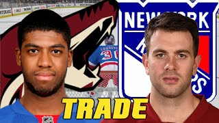NHL Trade: Yandle, Summers, 4th 2015 - Duclair, Moore, 1st 2016, 2nd 2015