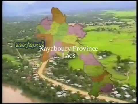 An old photo still from a documentary on the Xayaboury Province of the Lao PDR shows the province's vast land space, yet minimal use of roads to accommodate it.