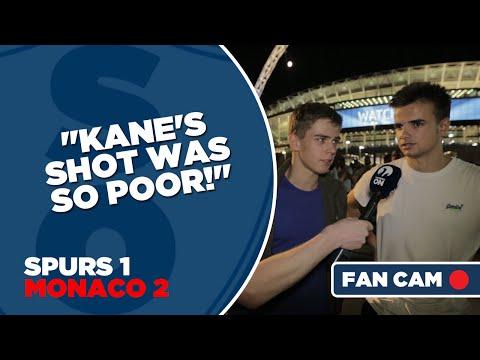 "Tottenham Hotspur 1-2 Monaco | ""Kane's Shot Was So Poor!"" | Fan Cam"
