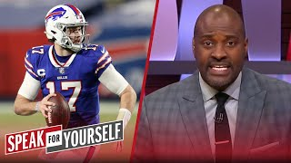 I'm a 'Bill-liever' in Josh Allen, he'll hang with Mahomes in AFC Title | NFL | SPEAK FOR YOURSELF