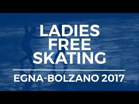 Sofia SAMODUROVA RUS Ladies Free Skating EGNA-NEUMARKT 2017