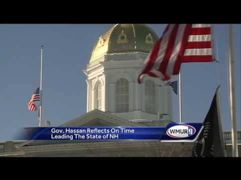 Hassan reflects on time leading NH