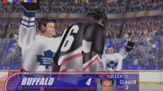 Wayne Gretzky's 3D Hockey (Toronto Maple Leafs) - ARCADE - MAME 0.209
