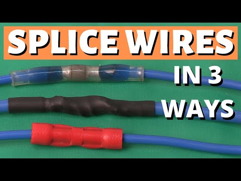 How To Splice Wires - How To Solder, How To Crimp, Wire Connectors