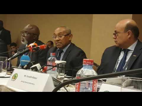 La CAF prend une décision et retire la CAN2019 au Cameroun