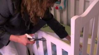Attaching Your Munch Cot Teething Rail