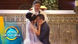 ¡Te traemos el mejor resumen de lo que pasó en la boda de Edwin Luna y Kim! | Venga La Alegría