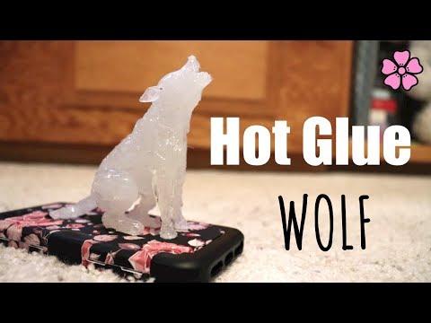 Hot Glue Wolf ♥︎
