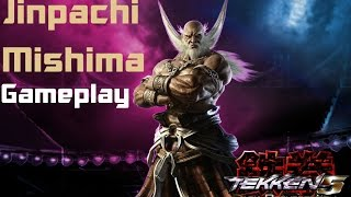 Tekken 5:Dark Resurrection:Jinpachi Mishima Gameplay