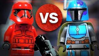 LEGO Star Wars 75267 Мандалорцы и Штурмовики Ситхов 75266 Обзор LEGO Звёздные войны Боевые наборы