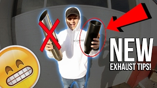 RE-DO BLUE: 4 Inch Rolled Exhaust Tips! | Episode 12