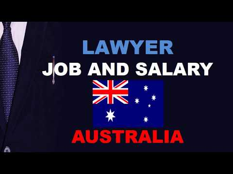 Lawyer Salary In Australia - Jobs And Wages In Australia