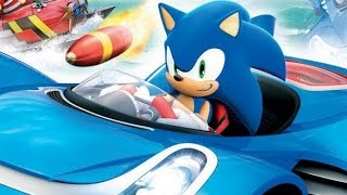 sonic all stars racing transformed sonic racing cartoon movie games for kids 2016 hd