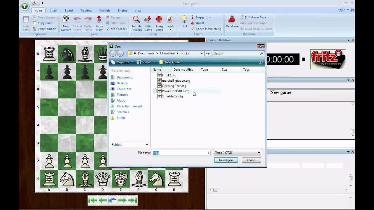 chessbase 11 opening book download