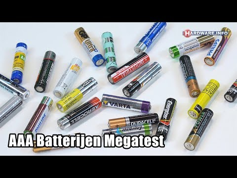24 AAA potlood batterijen video review - Hardware.Info TV (4K UHD)