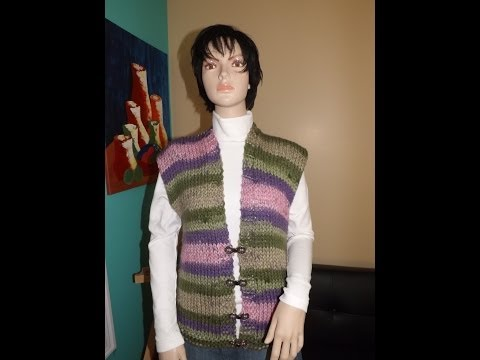 How to knit a cardigan or vest - with Ruby Stedman