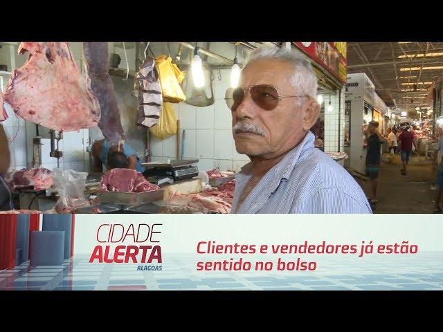 Carne cara: clientes e vendedores já estão sentido no bolso