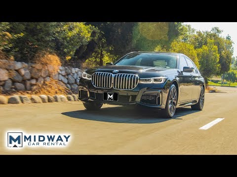 The NEW 2020 BMW 7 Series Review in 90 Seconds! (Midway Car Rental)