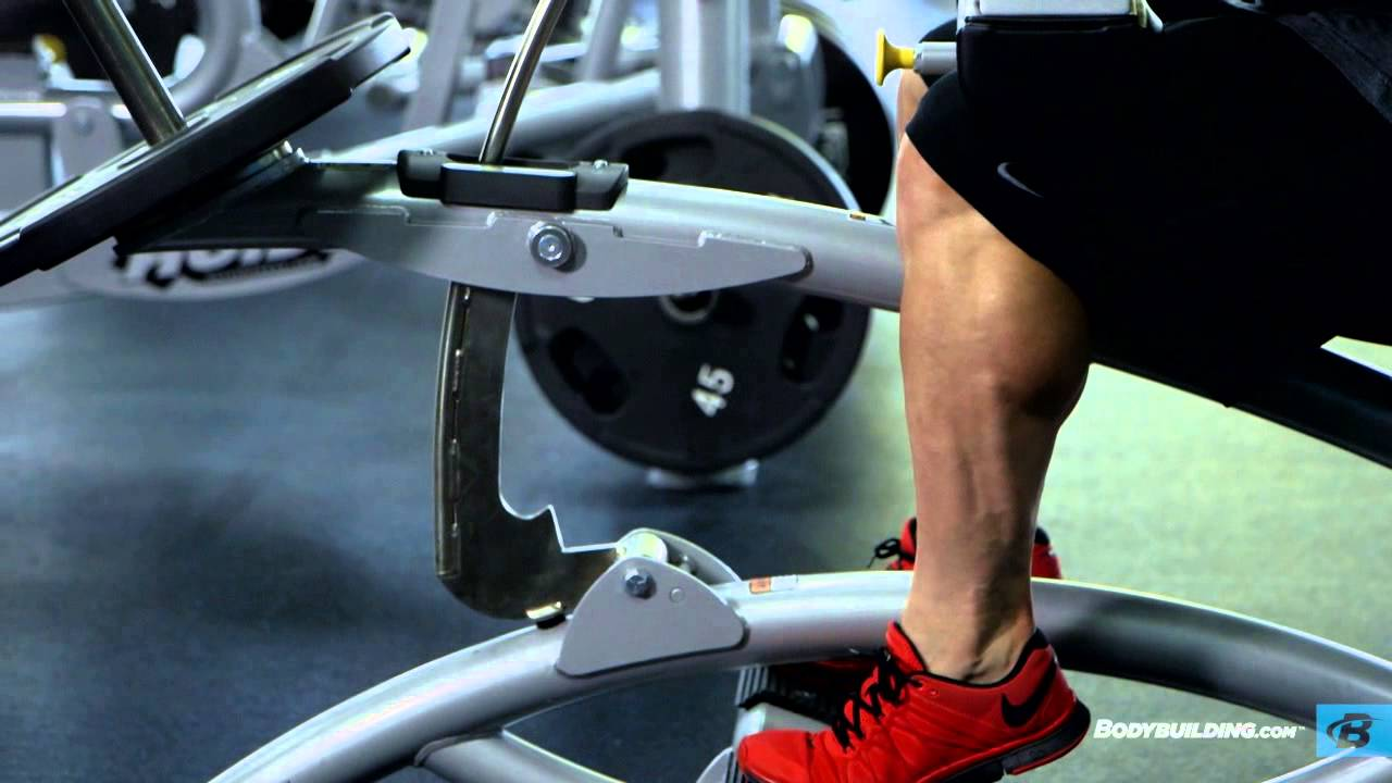 how to get bigger calves without equipment