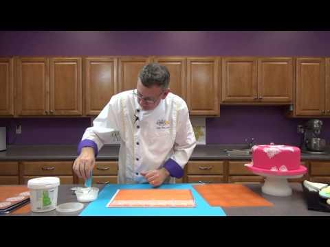 How To Make Cake Lace | Global Sugar Art