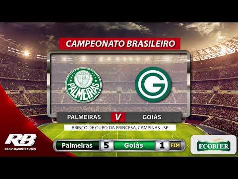 ?Campeonato Brasileiro - Palmeiras X Goiás - 05/12/2019 - AO VIVO