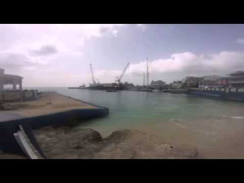 Grand Cayman Georgetown Harbour gopro