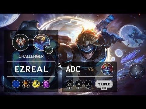 Ezreal ADC vs Heimerdinger - EUW Challenger Patch 9.24