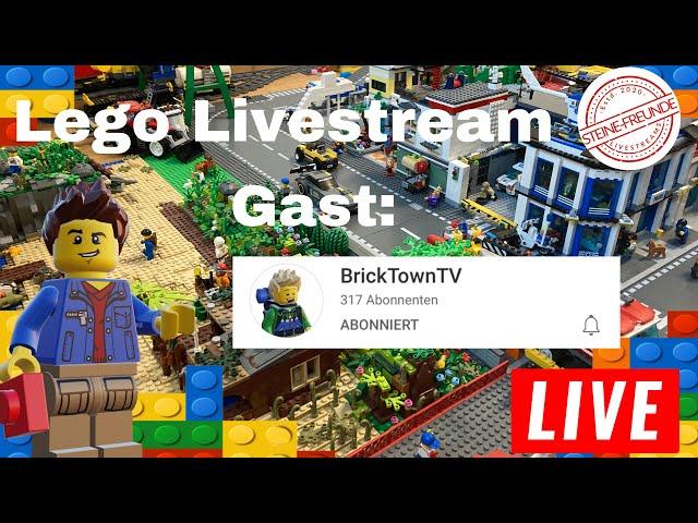 Lego Livestream/ Vorbereitungen für die neue Stadt