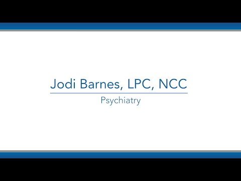Jodi Barnes, LPC video thumbnail