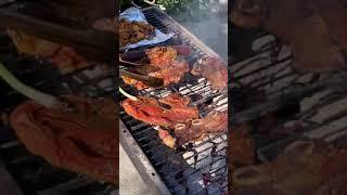 先日の恒例、裏庭メキシカンBBQ ベイビーオクトパスが美味しかった。なんでもタコスにしちゃうメキシカン。 BBQは絶品です。 I love Mexican BBQ. So tasty and tacos with ...