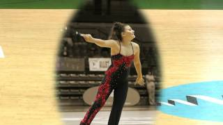 twirling baton  Solo Anaëlle Pagano médaille d'argent