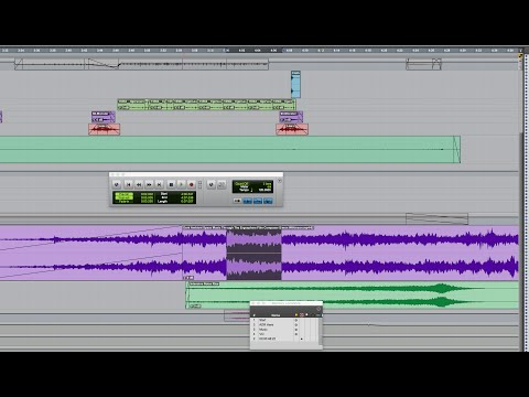 Pro Tools pre roll and post roll