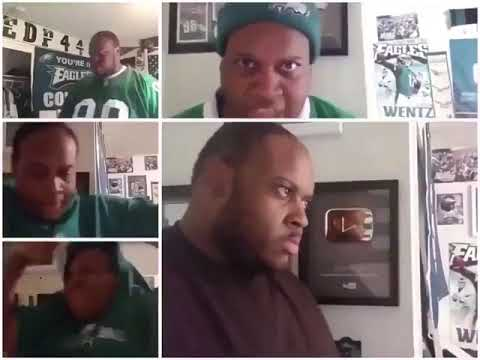 5 angry EDP445 videos playing all at once
