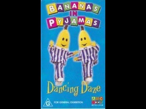 Bananas in Pyjamas - Dancing Daze (Australian VHS)