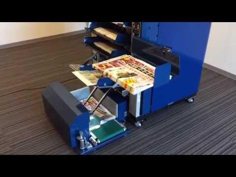Paper collator / sorting machine / for flyer, DM, leaflet, pamphlet, catalog, folded paper, book