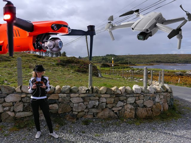 Autel Evo2 Pro and DJI Mavic Air2 comparison in high winds
