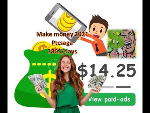 Download Make money 2021|| Earn with PTCsaga free 380$ in a day