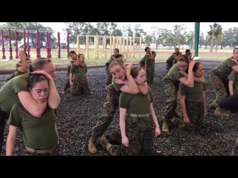 Five Days Of Hell - Training Women US Marines