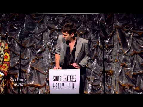 fun SINGER NATE RUESS GETS SONGWRITERS HALL OF FAME AWARD, INDUCTED BY BENNY BLANCO