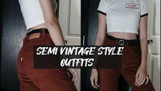Semi Vintage Style Outfits   dapeuni rosé