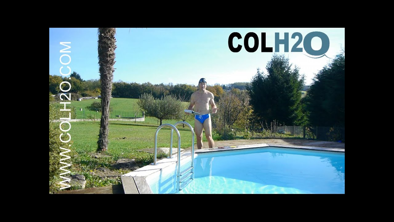 colh2o r paration liner piscine directement sous l 39 eau doovi. Black Bedroom Furniture Sets. Home Design Ideas