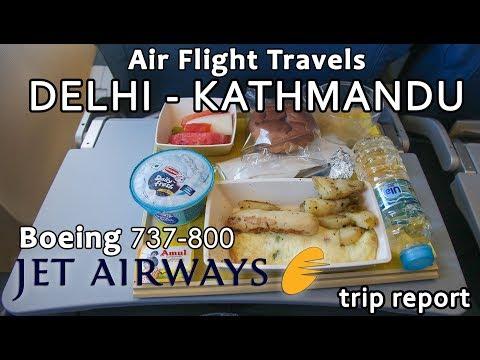 Trip Report : Jet Airways | Delhi to Kathmandu | KTM-DEL | B737-800 | 9W0264