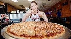 "MASSIVE 28"" TEAM PIZZA CHALLENGE"