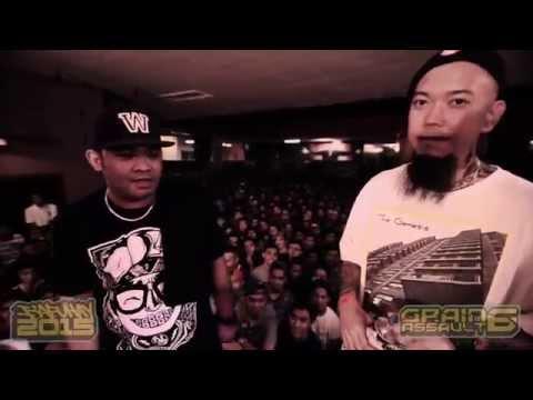 FlipTop  Batas vs Andy G @ Isabuhay 2015