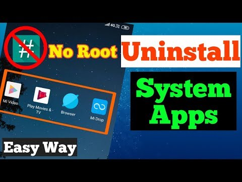 How To Uninstall System Apps On Android Without Root