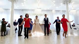 Флешмоб на калмыцкой свадьбе