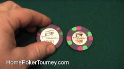 Pharaoh's Club poker chip review - A review of the Pharaoh's Club poker chips