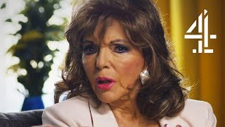 Joan Collins Is Surprised To Learn That She Snores! | Married To A Celebrity: The Survival Guide